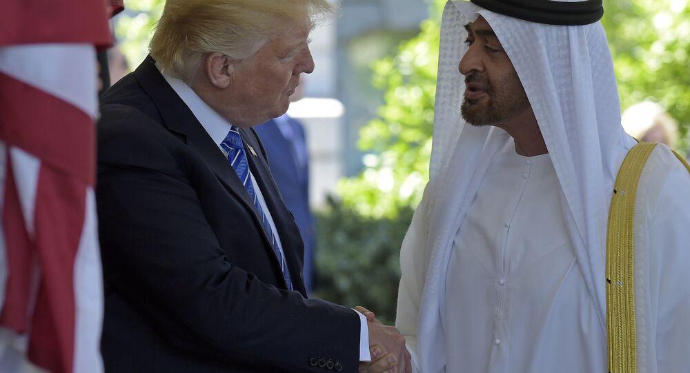Trump Abu Dabi Veliahtı Nahyan