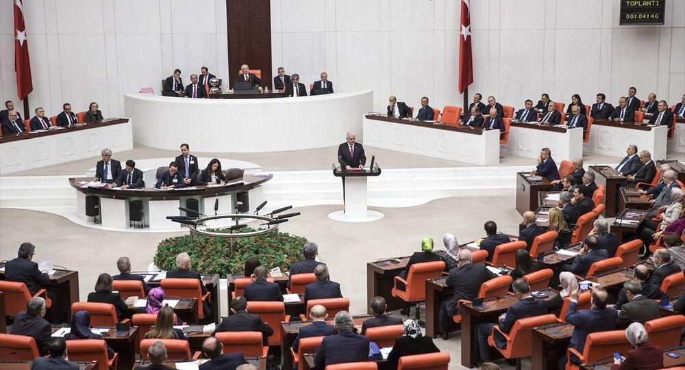 Başbakan Binali Yıldırım, TBMM Genel Kurulu'nda konuştu