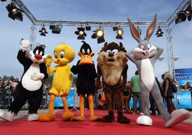 Sylvester, Tweety, Daffy Duck, Taz ve Bugs Bunny