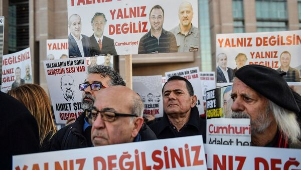 Cumhuriyet davası - Sputnik Türkiye