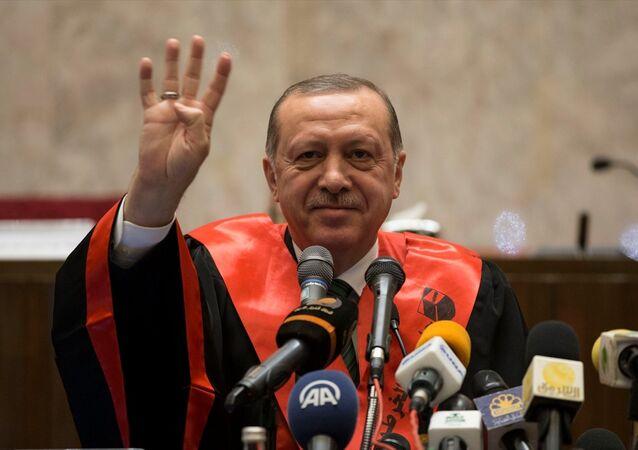 Cumhurbaşkanı Recep Tayyip Erdoğan, Sudan'da.
