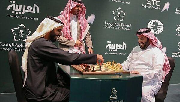 Suudi Arabistan-Satranç-Riyad - Sputnik Türkiye