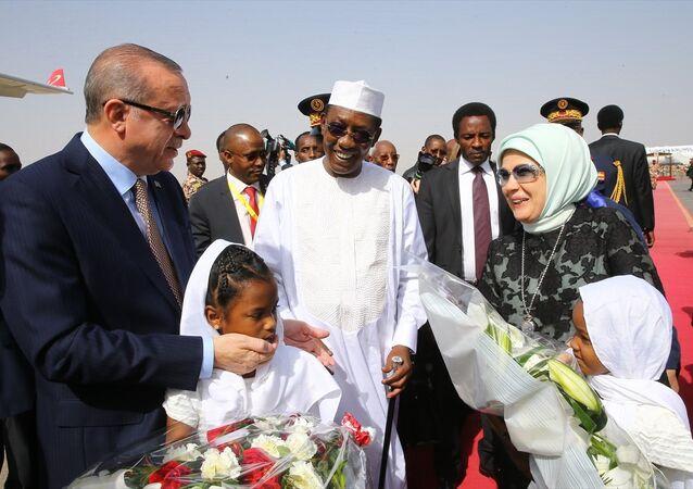 Erdoğan, Çad'da