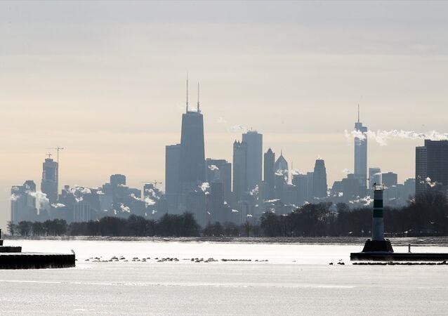 Chicago'da dondurucu soğuk
