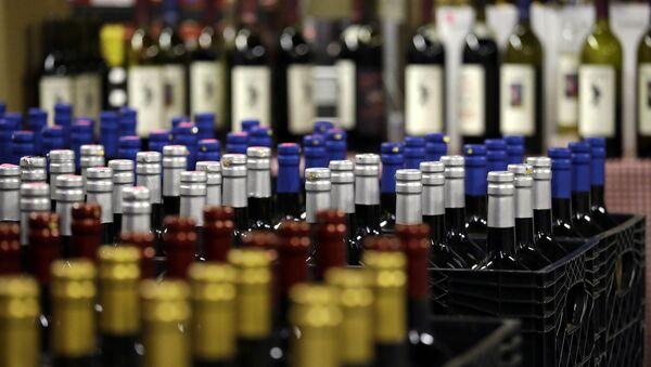 File Photo of Wine Bottles - Sputnik Türkiye
