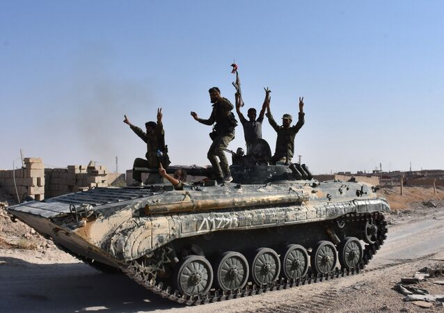 Suriye hükümetine bağlı güçler- Deyr ez Zor