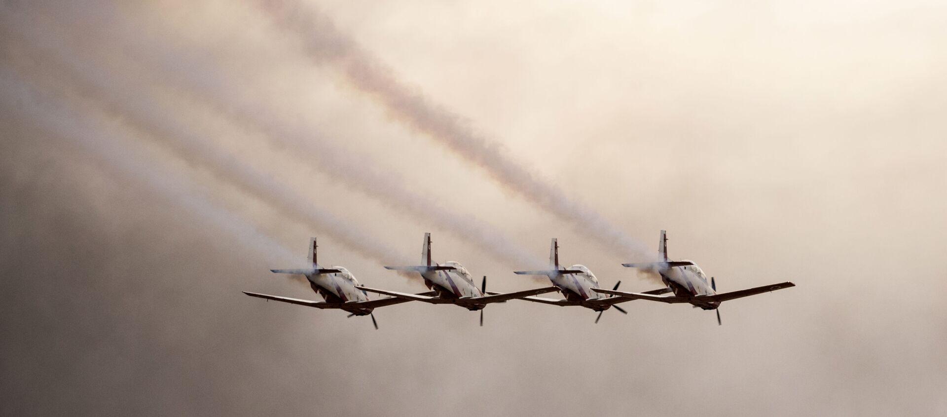 İsrail'in Hatzerim Hava Üssü'nde pilotların mezuniyet töreni - Sputnik Türkiye, 1920, 19.04.2021
