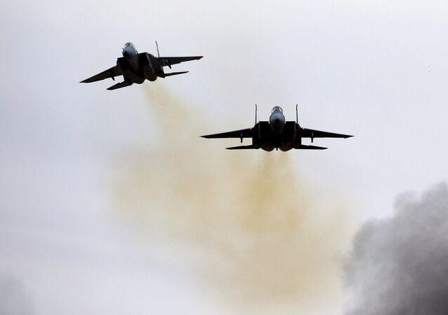İsrail'in Hatzerim Hava Üssü'nde pilotların mezuniyet töreni