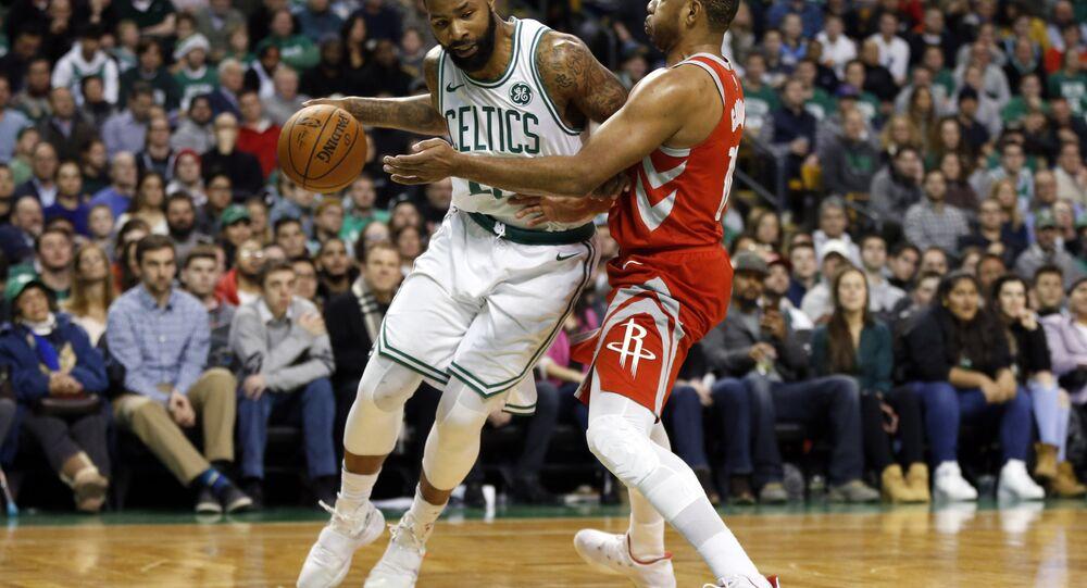 Boston Celtics Marcus Morris Houston Rockets Eric Gordon