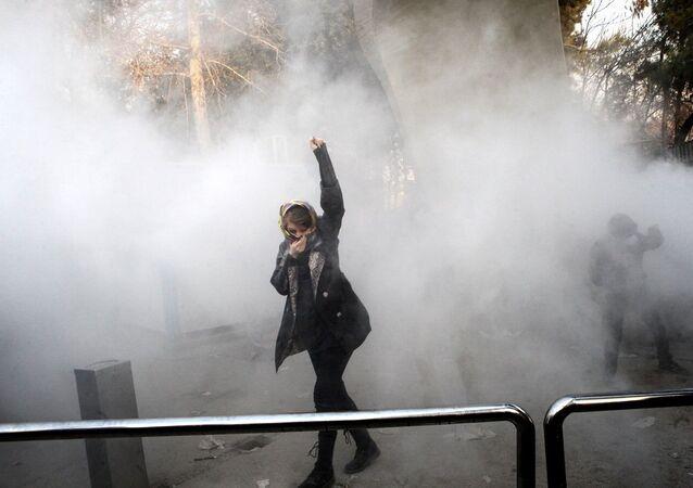 İran protesto