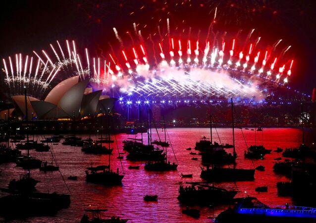 Sydney- Yeni yıl kutlamaları-2018
