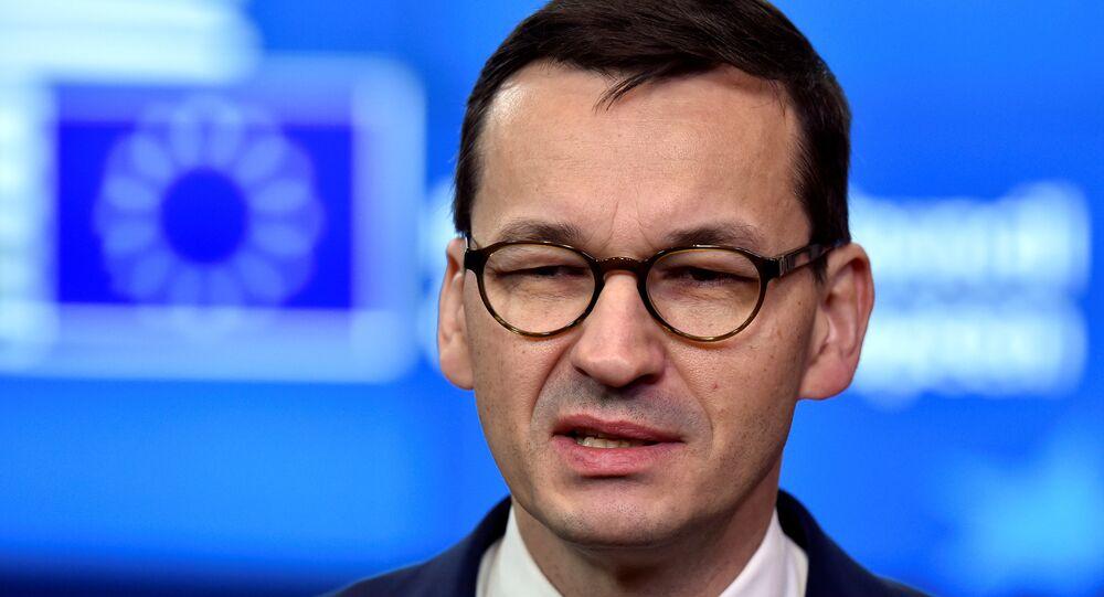 Polonya Başbakanı Mateusz Morawiecki