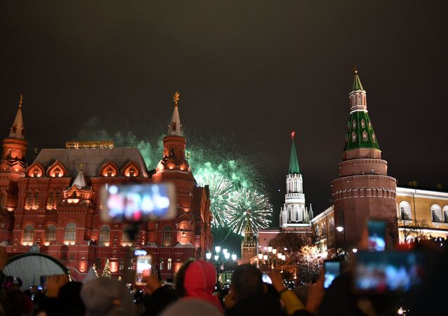 Moskova'daki Kızıl Meydan