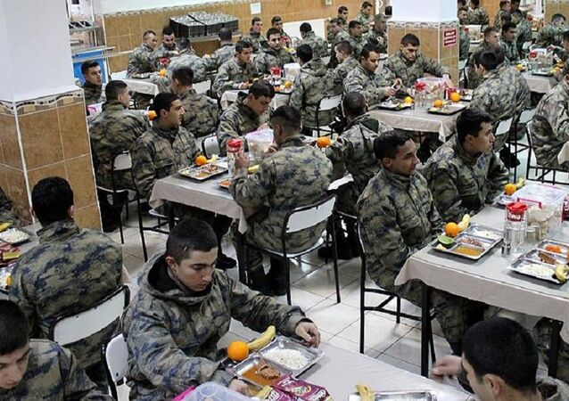 asker, yemekhane