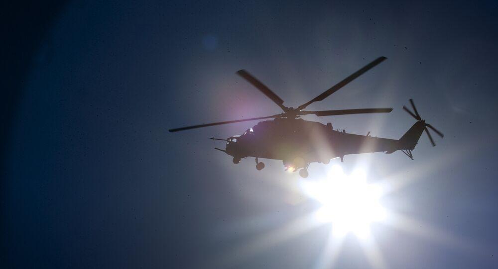Mi-24 saldırı helikopteri