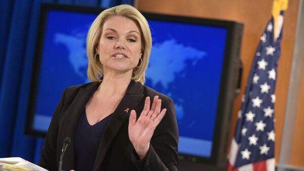 ABD Dışişleri Bakanlığı Sözcüsü Heather Nauert - Sputnik Türkiye