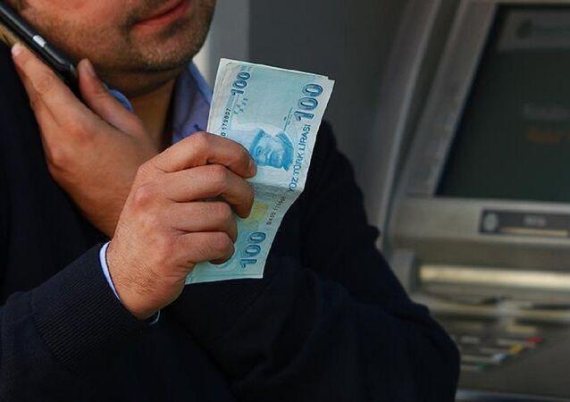 Banka, ATM, para