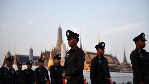 Tayland polisi - Sputnik Türkiye