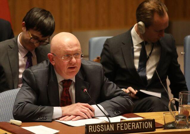 Rusya'nın BM Daimi Temsilcisi Vasiliy Nebenzya