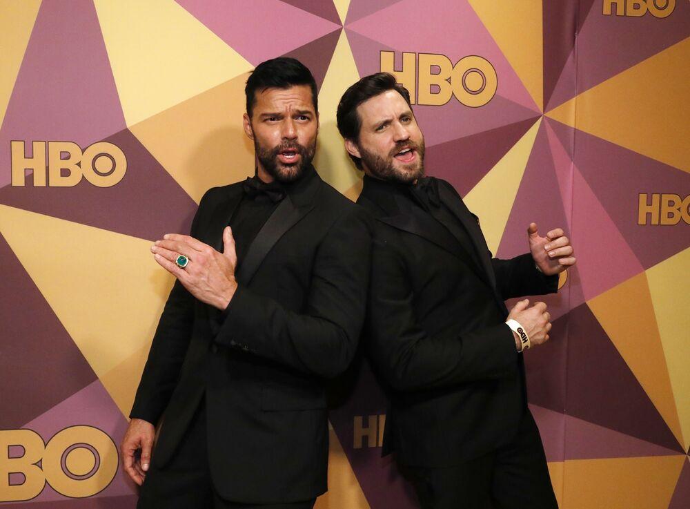 75. Altın Küre Ödülleri'nde Ricky Martin