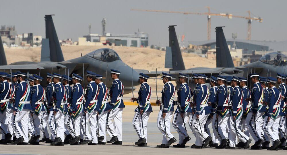 Suudi F-15'ler Kral Faysal Hava Akademisi Kral Salman Hava Üssü Riyad