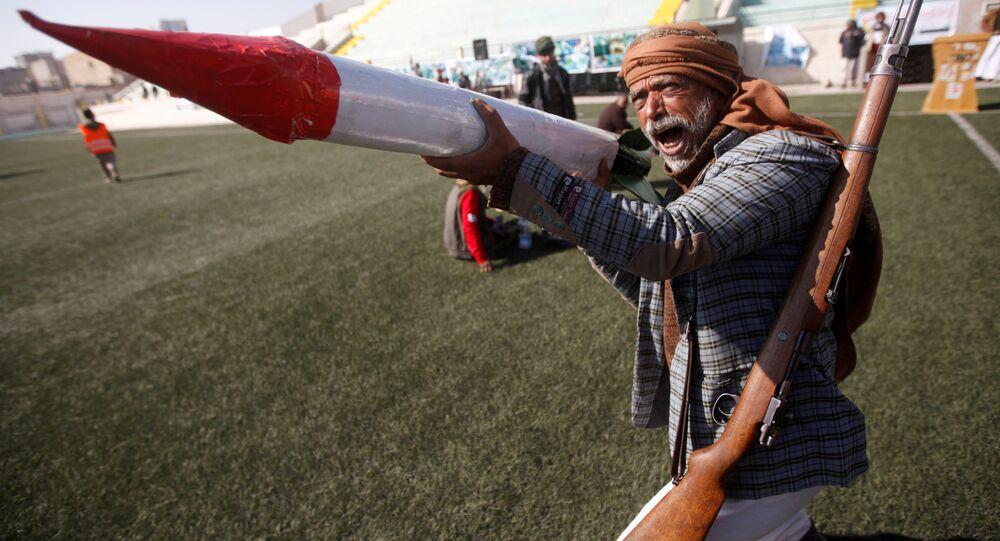 Riyad, Yemen saldırısını 21 Aralık 2017'de 1000. gününü doldurmasına rağmen hala devam ettiriyor. Direnen Husiler ise Suudileri korkutan füzelerin maketleriyle mizansen de yapıyor.
