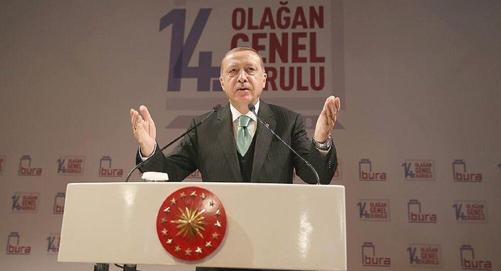 Erdoğan, Boğaziçi Üniversitesi'nde
