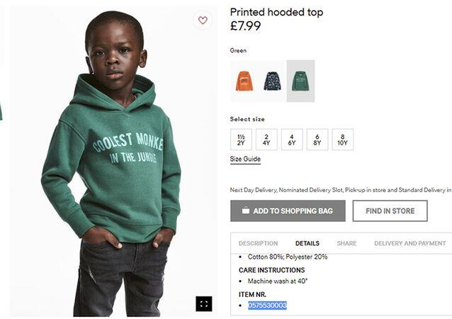 H&M şirketinin ırkçılıkla suçlanmasına neden olan görsel