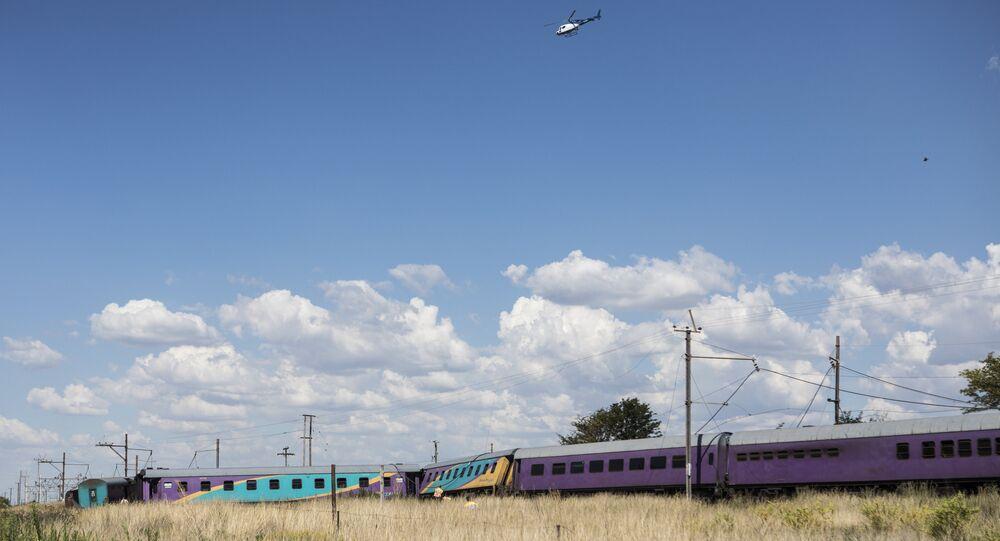 Güney Afrika Cumhuriyeti'nde yine tren kazası