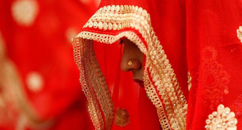 Hindistan- Kadın- Gelin- Düğün