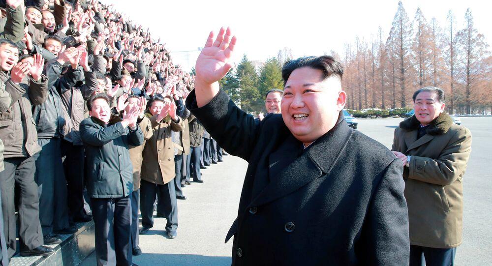 Kuzey Kore lideri Kim Jong-un Devlet Bilim Akademisi'ni ziyaret etti
