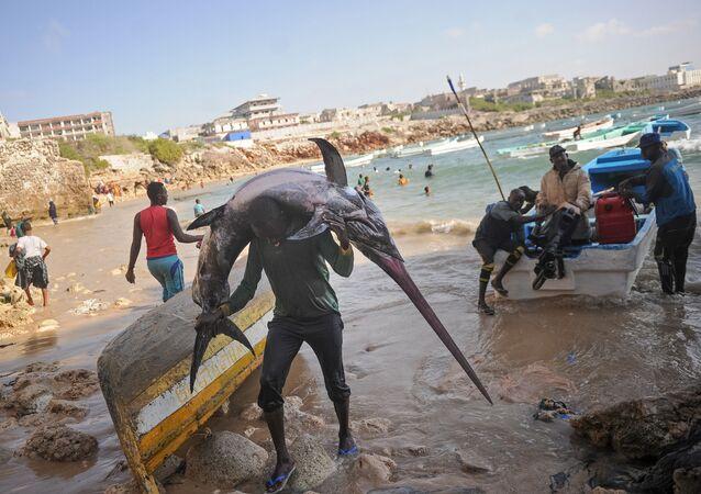 Somalili balıkçılar