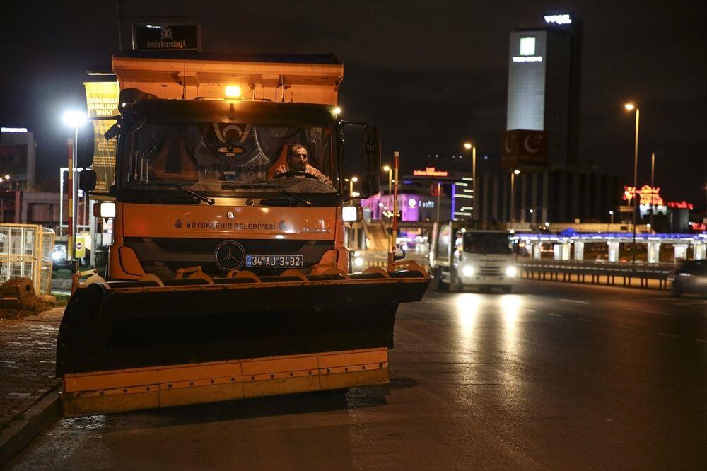 İstanbul, kara hazırlanıyor