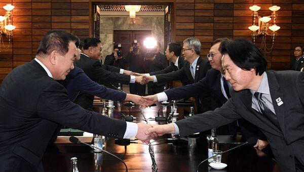 Kuzey Kore- Güney Kore - Sputnik Türkiye