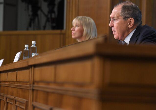 Rusya Dışişleri Bakanı Sergey Lavrov- Dışişleri Bakanlığı Sözcüsü Mariya Zaharova