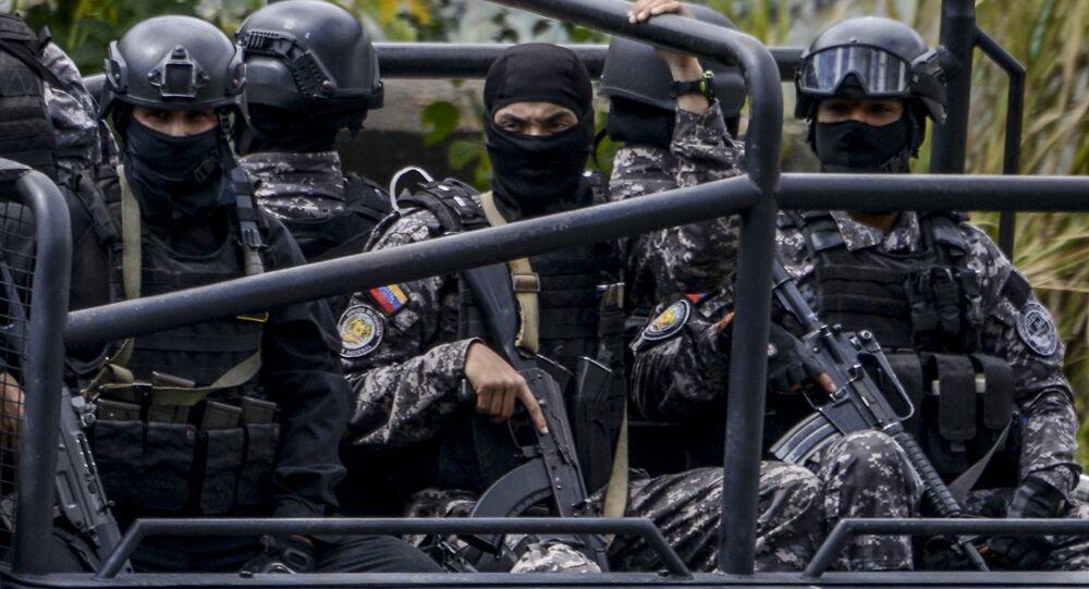 Venezüella güvenlik gücü mensupları- Bolivarcı Ulusal İstihbarat Bürosu (SEBIN)