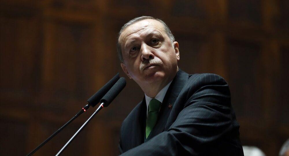 Cumhurbaşkanı ve AK Parti Genel Başkanı Recep Tayyip Erdoğan, partisinin TBMM Grup Toplantısı'na katılarak konuşma yaptı.