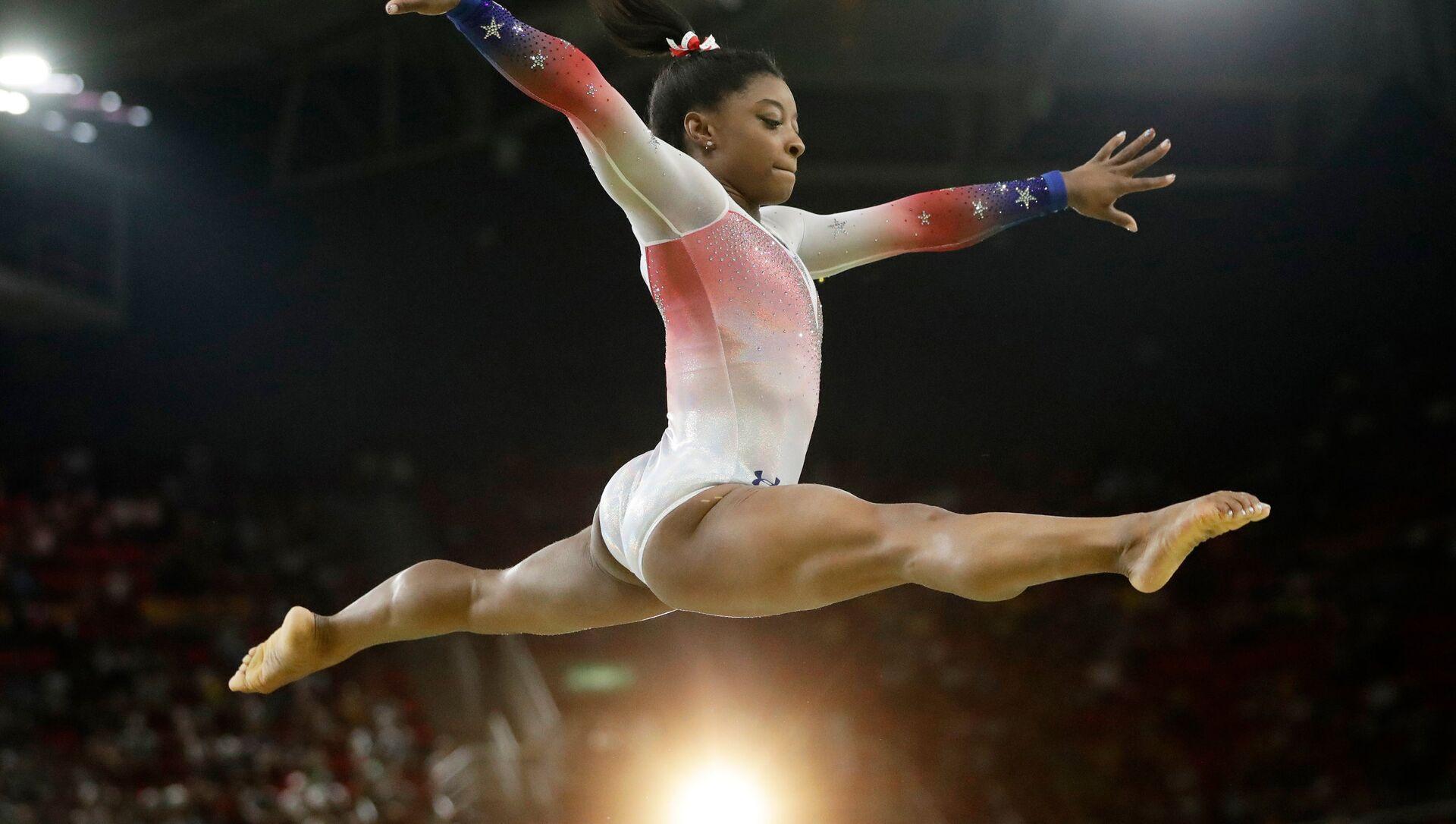 ABD'li cimnastikçi Simone Biles - Sputnik Türkiye, 1920, 03.08.2021