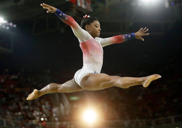 ABD'li cimnastikçi Simone Biles