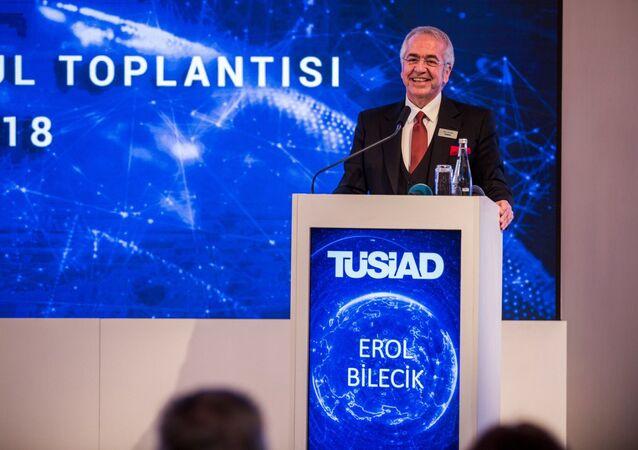 Türk Sanayicileri ve İşinsanları Derneği (TÜSİAD) Yönetim Kurulu Başkanı Erol Bilecik