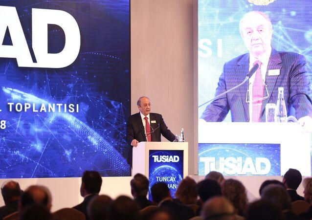 TÜSİAD Yüksek İstişare Konseyi Başkanı Tuncay Özilhan