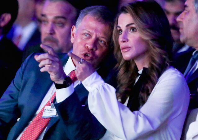 Ürdün Kralı Abdullah Ürdün Kraliçesi Rania