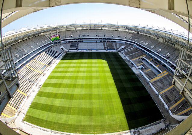 Rostov-on-Don kentinde FIFA 2018 Dünya Kupası'nın 5 maçına ev sahipliği yapacak Rostov Arena