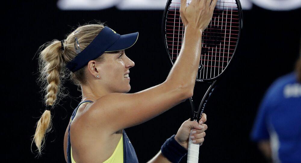 Alman tenisçi Angelique Kerber