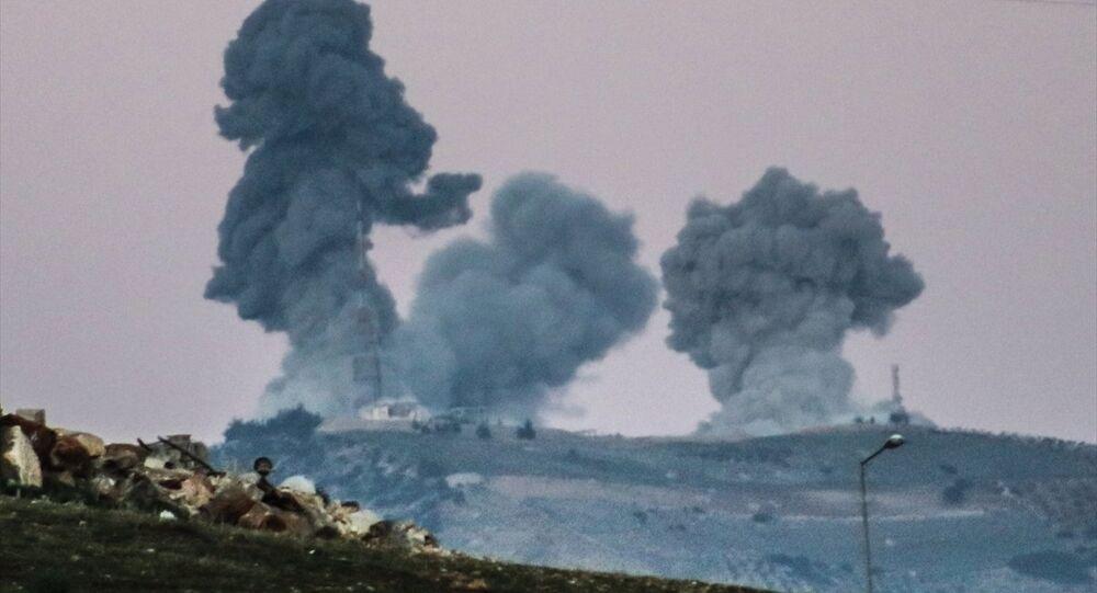 Afrin'e Zeytin Dalı Harekatı