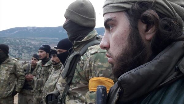 TSK, Zeytin Dalı Harekatı'nda Özgür Suriye Ordusu'yla (ÖSO) ilerliyor. - Sputnik Türkiye