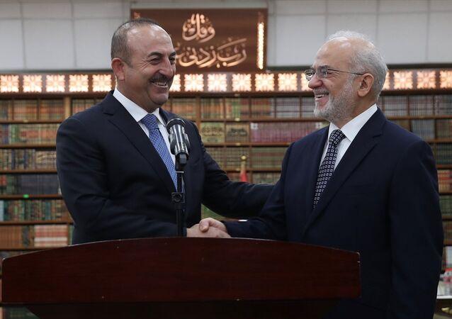 Dışişleri Bakanı Mevlüt Çavuşoğlu Bağdat'ta