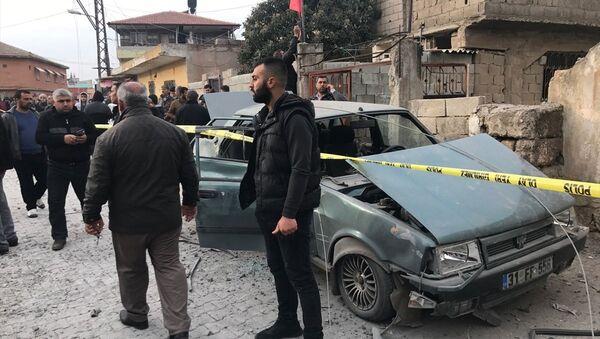Reyhanlı'ya roket atıldı - Sputnik Türkiye