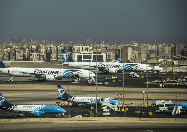 Egypt Air Mısır Havayolları Kahire Havaalanı