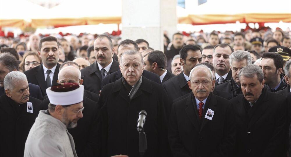 Recep Tayyip Erdoğan, Musa Özalkan'ın cenazesi
